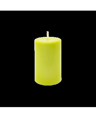 Bougie vert pomme parfum d'ambiance naturel pour athmosphère détendue
