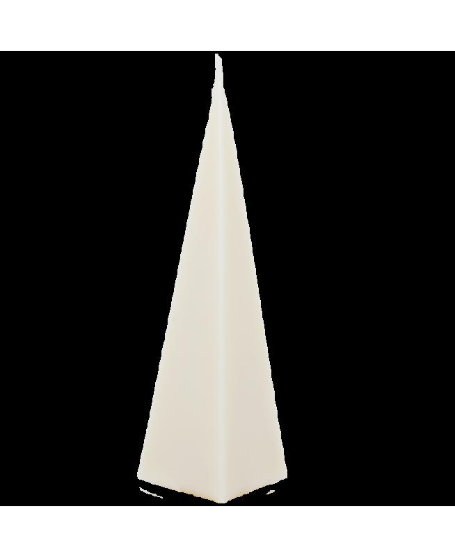 Bougie blanche sans colorant sans parfum 100% écologique