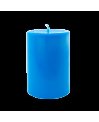 Bougie naturelle aux couleurs chaudes, idéale pour les tables de fêtes