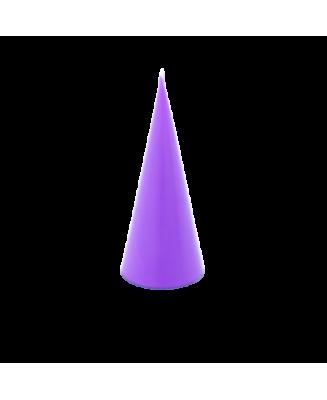 Bougie mauve - violet parfum lavande naturel huiles essentielles pour assainir la maison