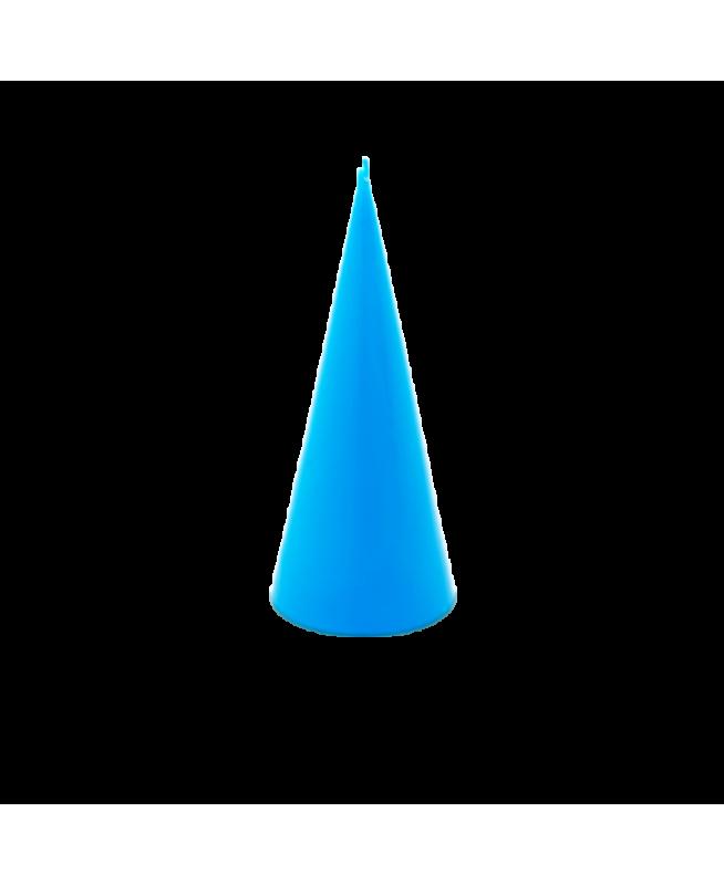 Bougie bleue parfumée huiles essentielles, cire végétale, parfum d'ambiance zen